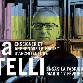 Conférence - Enseigner et apprendre le projet d'architecture